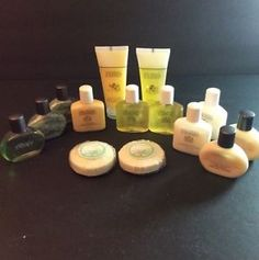 Gilchrist & Soames Travel Lot Of 14 Shampoo Conditioner Lotion Soap Wash Spa