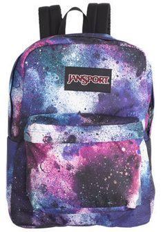 Jansport Superbreak Galaxy cosmic celestial Backpack VERY RARE. | eBay