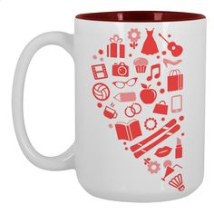 Mine=yours Large Mug 450ml Design by Ej madziu | Teequilla | Teequilla