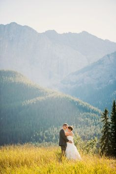 canmore wedding. Such a beautiful setting