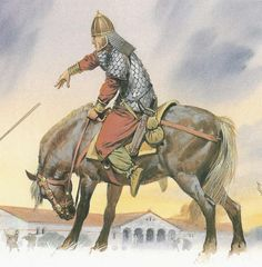 Alan warrior in combat at Orleans (circa 451 AD). Many of these Iranian speakers settled in what is now modern France and assimilated into the local ...
