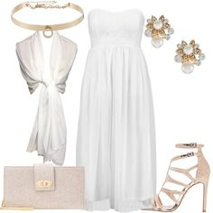Outfit L\'abito bianco elegante