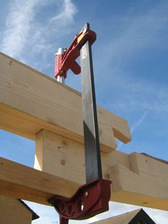 there's always another way of doing a scarf joint!