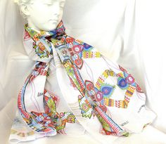 Foulard + Velo de algodon by Lita Blanc, via Flickr