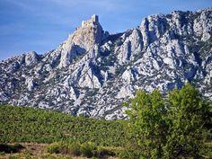 L'impressionnant site du #château cathare de #Quéribus dans les #Pyrénées. #France