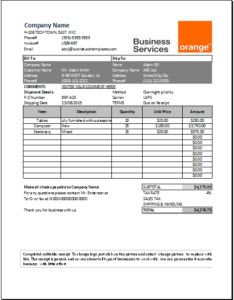 Business services receipt DOWNLOAD at http://www.templateinn.com/21-receipt-templates-for-personal-and-business-use/