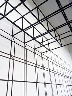 LA-based architecture firm Johnston Marklee's installation Grid Is a Grid Is a Grid Is a Grid Is a Grid