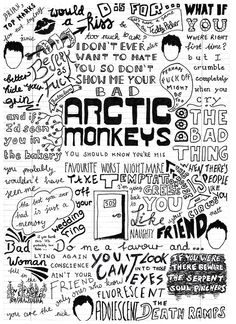 Arctic Monkeys – Favourite Worst Nightmare Great job and keep it coming, whoever makes these!
