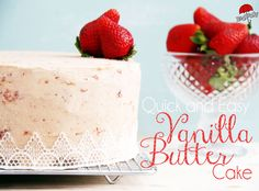 Have you ever wondered when watching cooking shows on TV how the cooks can just pull a recipe for a cake out of thin air? Vanilla Butter cake is just one of those recipes that everyone should just know. It's a beautiful, simple, rich and versatile cake. From just one single basic recipe you can …
