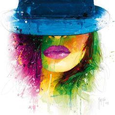 "JaxsonRea ""Coralie II"" by Patrice Murciano Graphic Art on Wrapped Canvas Size: Murciano Art, Frames On Wall, Framed Wall Art, Patrice Murciano, L'art Du Portrait, Urbane Kunst, Art Graphique, Pics Art, State Art"