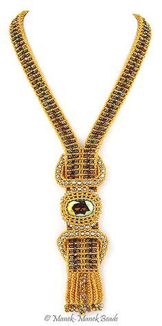 Le Joyau de Versailles : Manek-Manek Beads - Jewelry | Kits | Tutorials | Workshops
