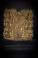 Lot N° 208 A six figure torana Tibet, 15th-16th Century