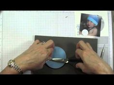 ▶ Cool card!!! Hidden photo revealed with spinner mechanism!