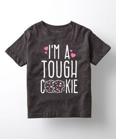 Take a look at this Heather Charcoal 'Short Blonde And Handsome' Tee - Toddler & Boys today! Toddler Swag, Toddler Boys, Funny Kids Shirts, Shirts For Girls, Thanks Mom, Tough Girl, Vinyl Shirts, Custom Shirts, Short Blonde