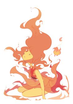 is the back yard big enough for the mothership? Adventure Time Flame Princess, Adventure Time Characters, Adventure Time Finn, Cartoon Network Adventure Time, Cartoon Kunst, Cartoon Art, Fanart, Princesa Flame, Abenteuerzeit Mit Finn Und Jake