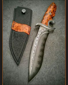 Hans made Bowie knife