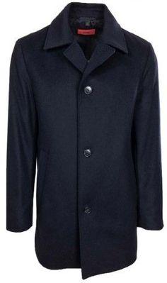 HUGO BOSS Men's Dais Coat ( Navy, 38R )