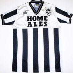 Notts County football shirt 1987 - 1988 sponsored by Home Beer e61fd4e4a