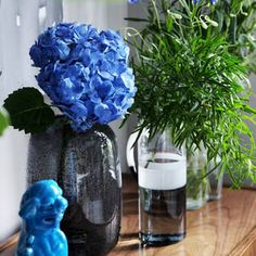 Inspirasjon – Min Oase Diy Wreath, Wreaths, Glass Vase, Christmas, Home Decor, Witch, Do Crafts, Crown Flower, Xmas