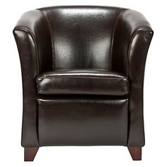 To go with the bed in my Dream Bedroom! Safavieh Lorraine Tub Chair - Brown at HSN.com. #HSN #HouseBeautiful