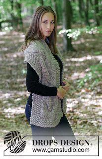 Free knitting patterns and crochet patterns by DROPS Design Knitting Patterns Free, Free Knitting, Free Pattern, Crochet Patterns, Drops Design, Moss Stitch, Seed Stitch, Crochet Design, Magazine Drops
