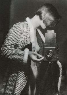 Marianne Breslauer, Self-portrait, Berlin, 1933.