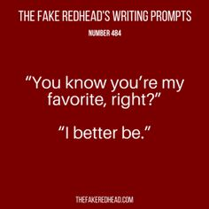 TFR's Writing Prompt 484