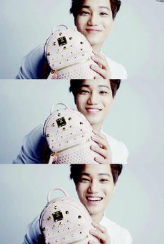 Exo - MCM Kai, Bucket Hat, Fashion, Sweetie Belle, Smile, Moda, Bob, Fashion Styles, Fashion Illustrations