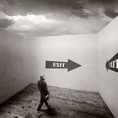 """Exit"" by yves.lecoq on flickr.com"