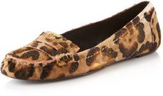 ShopStyle: Elizabeth and James Leopard-Print Moccasin