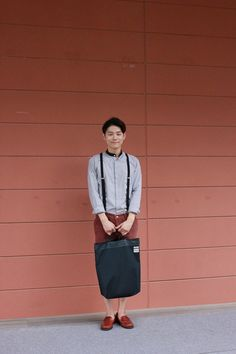 Korean fashion blogger Park jae woong