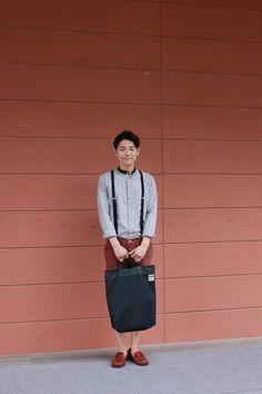 Korean fashion blogger Park jae woong