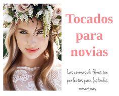 Tocados para novias: coronas de flores   #novia #bride #peinadoparanovia #tocadosparanovia #coronadeflores