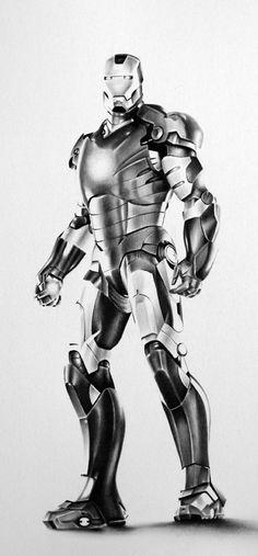 ☆ Iron Man :¦: By Artist Ileana Hunter ☆