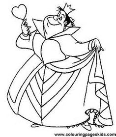 Alice In Wonderland Coloring Pages - Bing Images