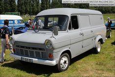 Grey Ford Transit Mk1 Van