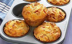Η συνταγή που τα σπάει! Κεκάκια με ζαμπόν και τυρί!