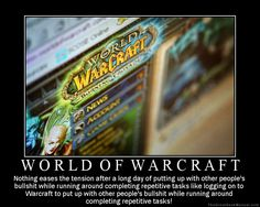 Motivational Poster: World of Warcraft