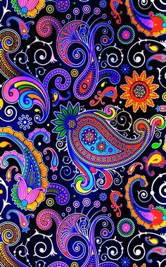 - AquaCrystal - News Paisley Wallpaper, Paisley Art, Graphic Wallpaper, Cute Wallpaper Backgrounds, Pretty Wallpapers, Flower Wallpaper, Pattern Wallpaper, Nature Wallpaper, Paisley Background