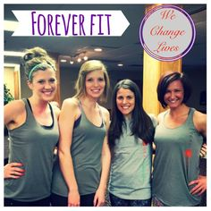We support each other, we motivate each other, and inspire each other!  #foreverfit #everysweatmatters #girlboss