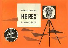 Bolex H8 REX User manual (en)