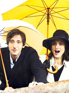 Adrien Brody and Rachel Weisz in The Brothers Bloom :) Rachel Weisz Movies, The Brothers Bloom, Pink And Black Hair, Celebrity Film, Rian Johnson, Movies Worth Watching, The Fault In Our Stars, About Time Movie, Love Movie