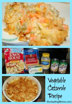 Easy Vegetable Casserole - even my husband LOVES this one!
