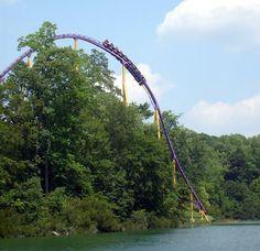 Apollo's Chariot, Busch Gardens, VA.