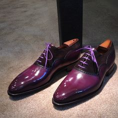 Corthay Shoes.... Loving the rich depth of color these have.
