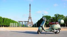 Vespa Strapazzatela: For the newest visitors - Vespas in France, South Korea, Morocco, Slovakia