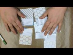 Teri shares a favorite tip in this video on how to make your own journaling cards for 'Project Life' like pages. She is using stamps from TechniqueTuesday.com to make the cards in the video.