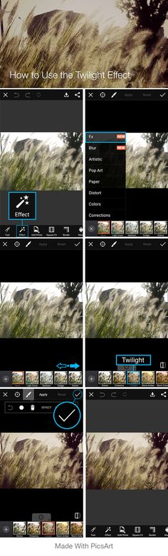 How to add a golden effect to your photos