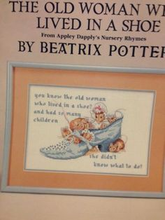1000 Images About Beatrix Potter In Cross Stitch