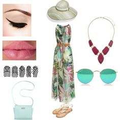 Summer outing by katheeja-clara on Polyvore featuring polyvore fashion style Marc Fisher Billie & Blossom